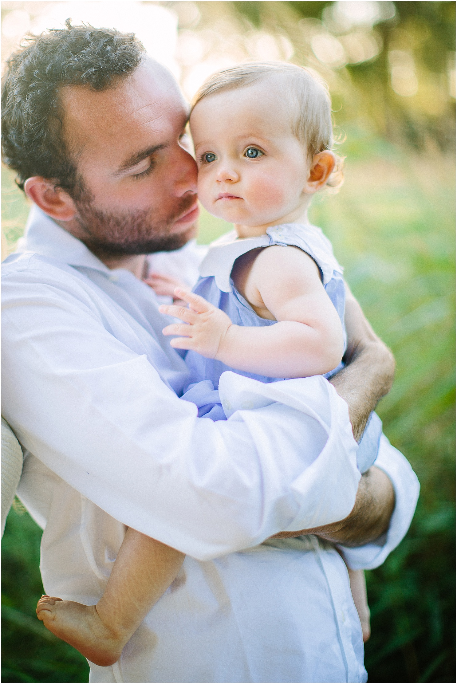 papa et son bebe