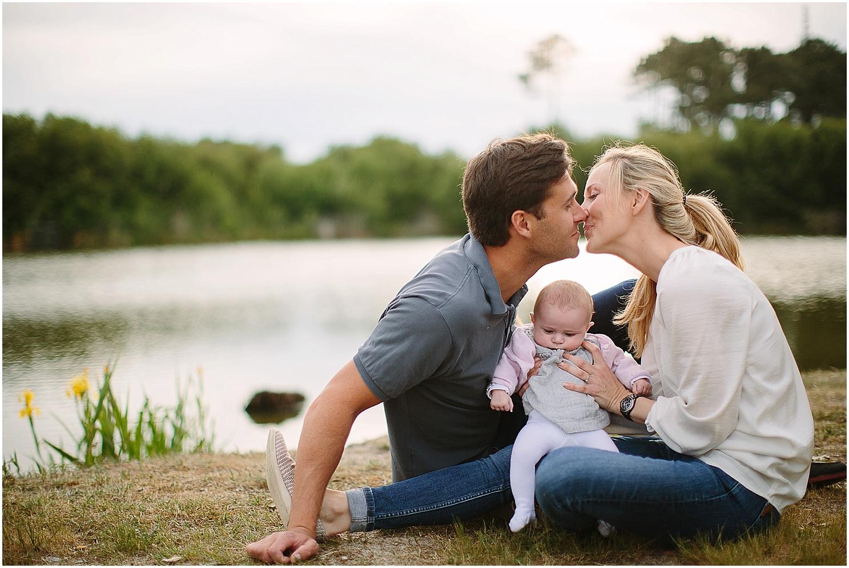 seance photo landes d'une petite famille