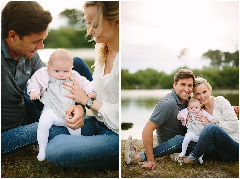 photo de famille dans les landes