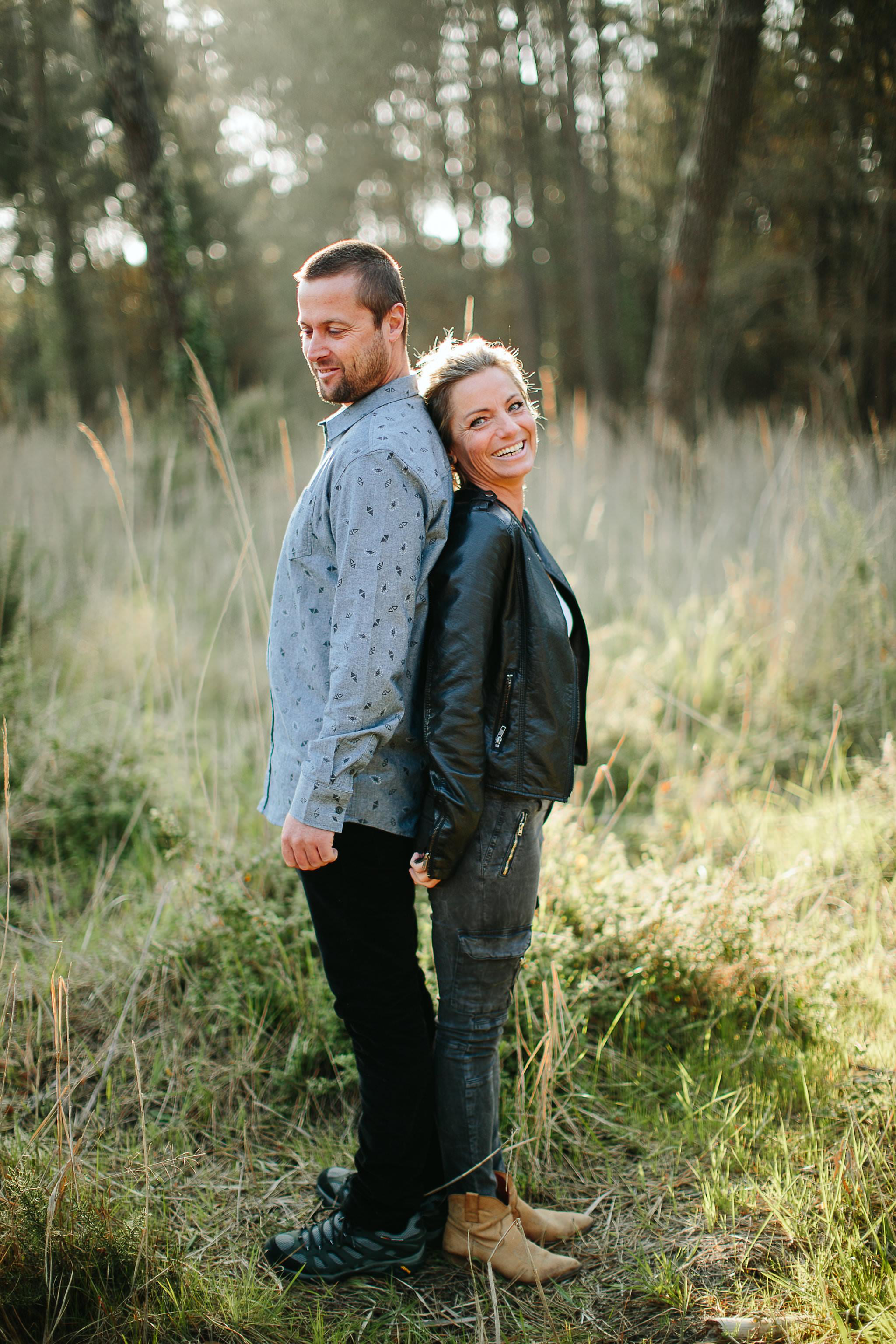 Claire Saucaz photographe couple dans les landes