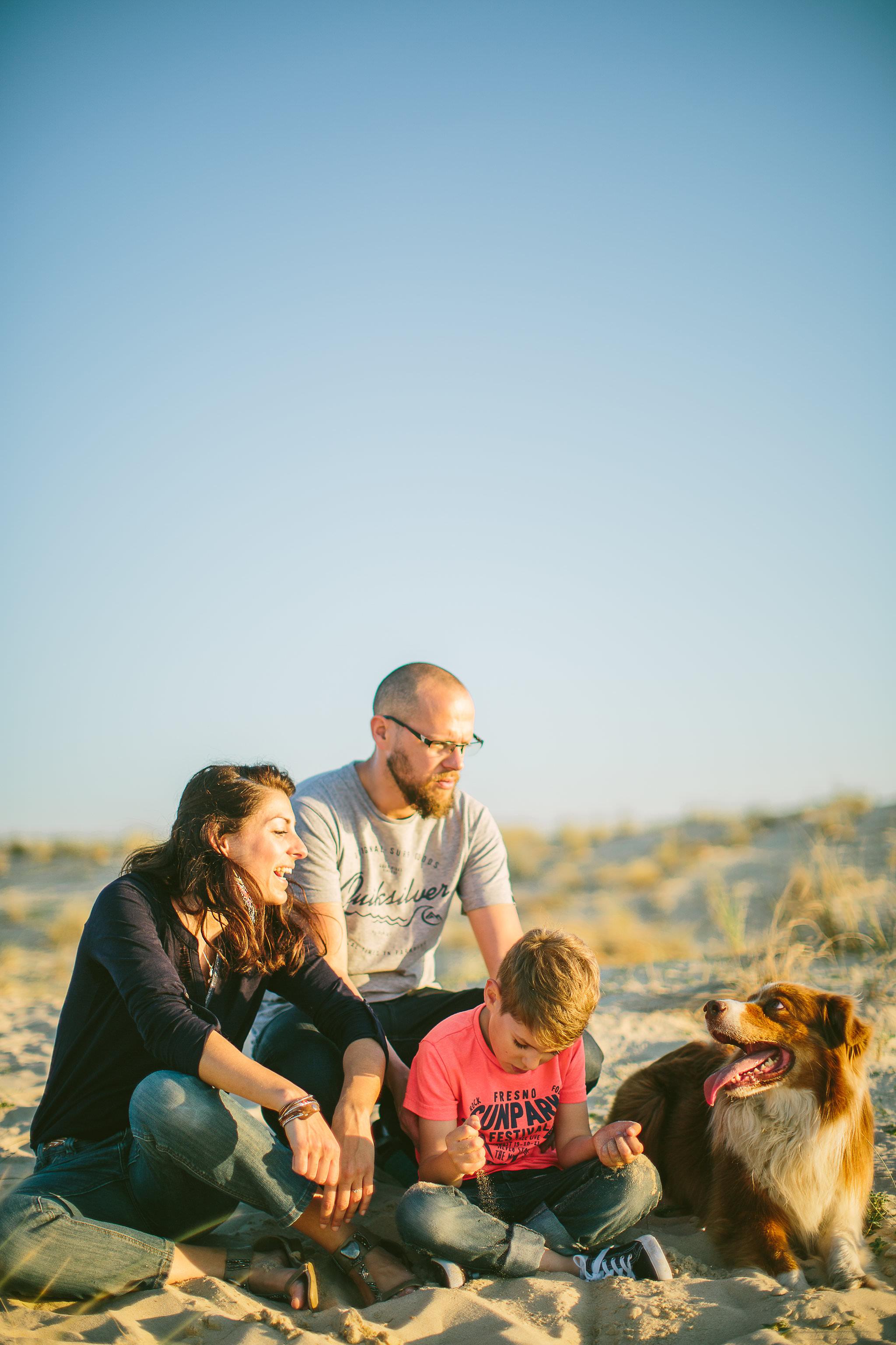 photographe de famille a seignosse