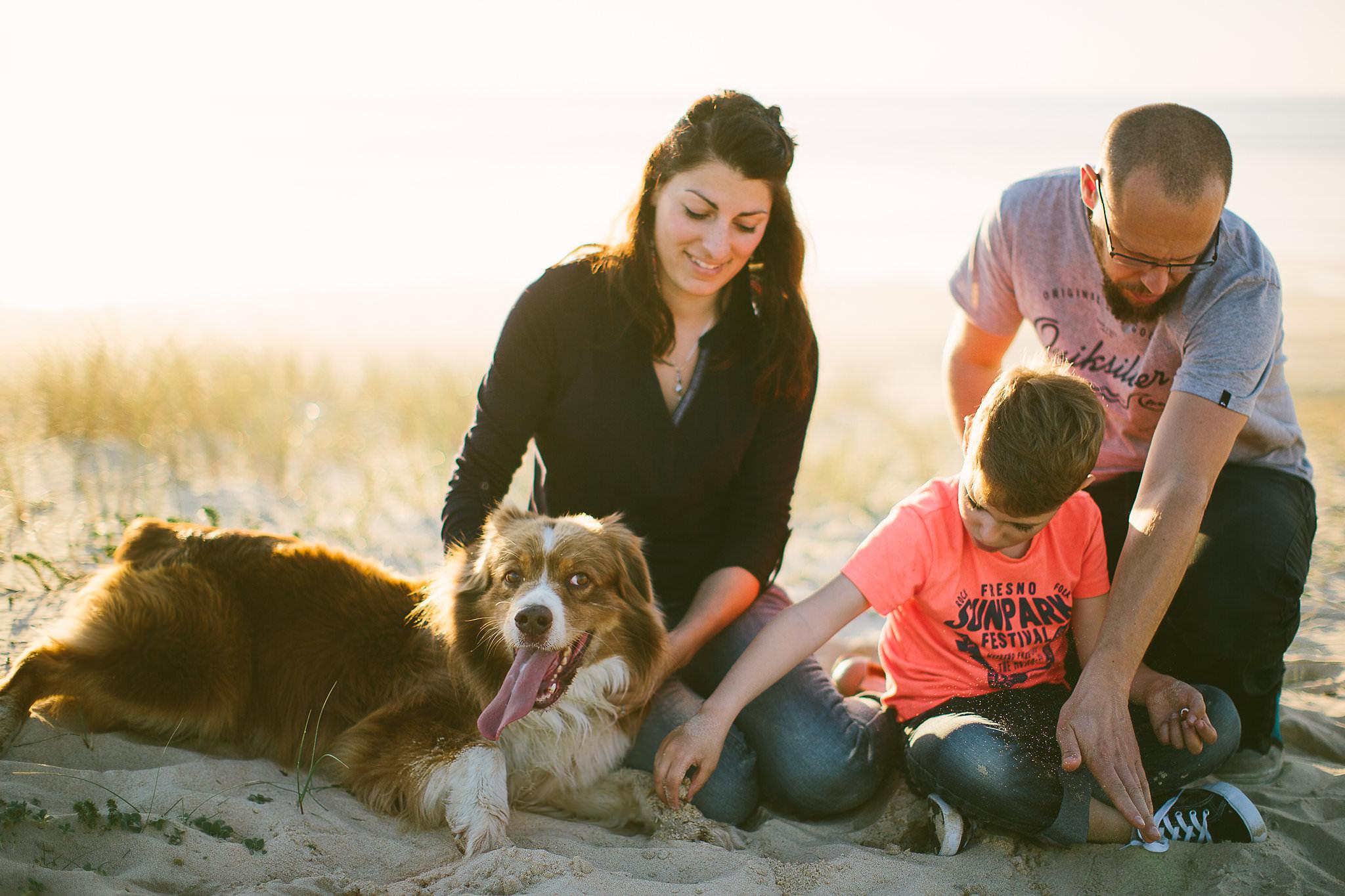 photographe de famille a seignosse dans les landes avec claire saucaz