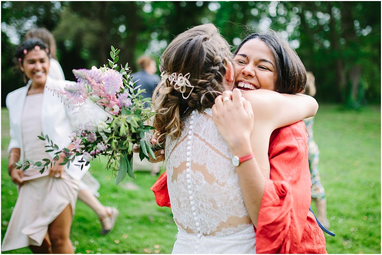 lancée du bouquet de la mariée au coco barn