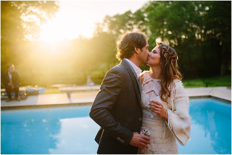 mariage au coco barn piscine