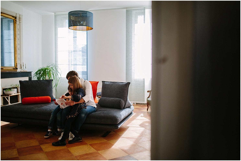 seance photo dans jolie maison dans le medoc