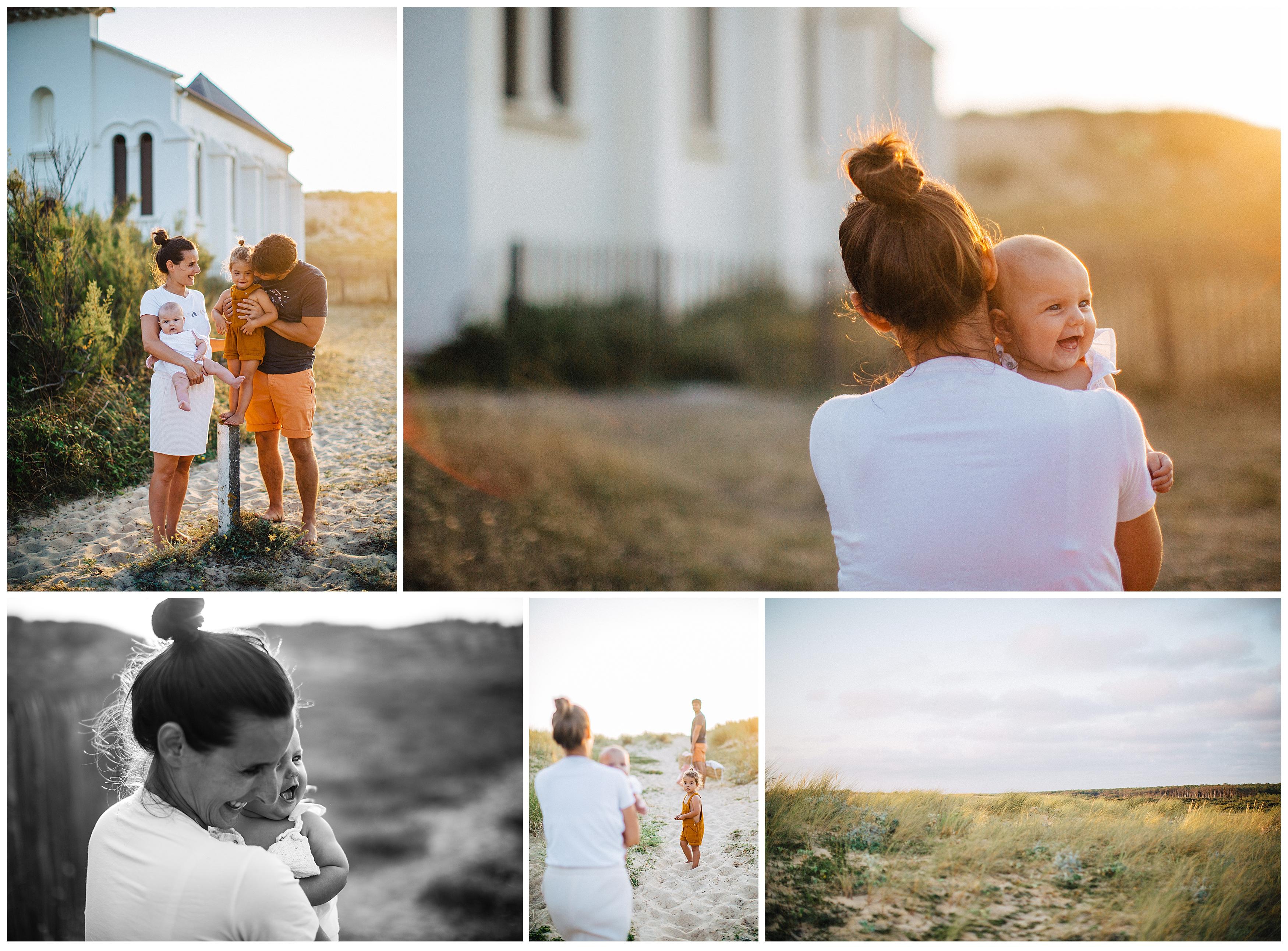 photographe famille a hossegor